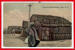 ASIE - YEMEN -- - ADEN - Samali Hut Sheikh - Yémen