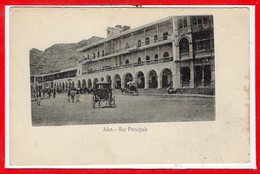 ASIE - YEMEN -- - ADEN - Rue Principale - Yemen