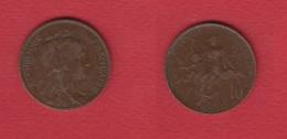 Dupuis  --  10  Centimes 1909  --  Coups Tranche Sinon Beau TTB - France
