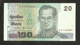 THAILAND - 20 BAHT (2003) - Tailandia