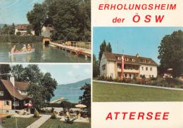 Atteresee Erholungsheim Der Osw - Attersee-Orte