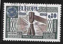 N°  266     EUROPA   ANDORRE -  1976