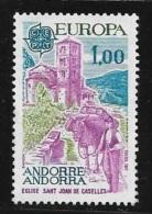 N°  274     EUROPA   ANDORRE -  1977