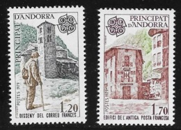 N°  289 / 290     EUROPA   ANDORRE FRANCAIS  - NEUF  HISTOIRE POSTALE   1979 - Unused Stamps