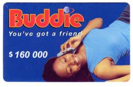 ZIMBABWE PREPAYEE 160 000$ BUDDIE ECONET - Zimbabwe