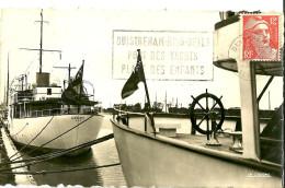 """Ouistreham. Le Yacht """"le Radiant"""" Dans Le Port De Ouistreham. - Ouistreham"""