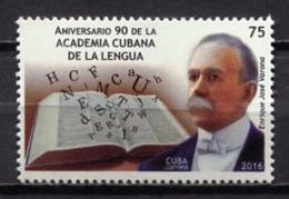 Cuba 2016 / Spanish Language Academy MNH Academia De La Lengua / Cu0604  30 - Idioma
