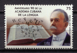 Cuba 2016 / Spanish Language Academy MNH Academia De La Lengua / Cu0604  30 - Otros