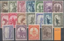 Congo Belge 1931, N° 168/83, Scènes Indigènes, Animaux Et Paysages, SC - 1923-44: Nuovi