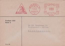 SUISSE   1942 BALE EMA - Postage Meters