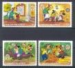 NctD131 WALT DISNEY MICKEY ALS TOM SAWYER Goofy, Pluto, Mickey MARK TWAIN CAICOS 1985 PF/MNH - Disney