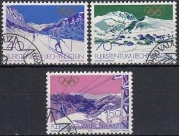 Liechtenstein 1979 Nº 679/81 Usado - Liechtenstein