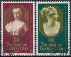 Liechtenstein 1980 Nº 682/83 Usado - Liechtenstein
