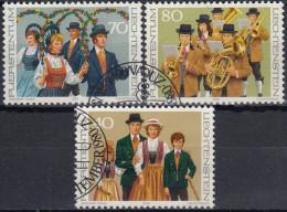Liechtenstein 1980 Nº 695/97 Usado - Liechtenstein