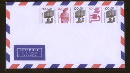 Berlin - Privatganzsache/LP-Umschlag PU 066 A2/001  - 100Pf + 30Pf + 100Pf + 40Pf + 100Pf Unfallverhütung - Ungebraucht - Berlin (West)