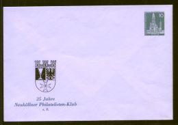 Berlin - Privatganzsache/Umschlag PU 016 B2/002b  - 10 Pf Berliner Bauten II - Ungebraucht - Berlin (West)