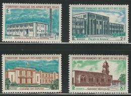 Afars Et Issas, 1969, Public Buildings, Batiments, MNH, Michel 20-23