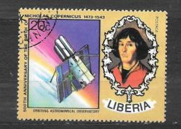LIBERIA - N. 627/US Copernico - Liberia