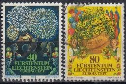 Liechtenstein 1981 Nº 705/06 Usado - Liechtenstein