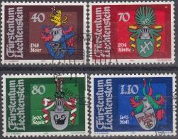 Liechtenstein 1981 Nº 707/10 Usado - Liechtenstein
