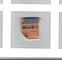 Pin´s  Mac  Do  CHEMFAB  McLaw V - McDonald's