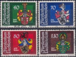 Liechtenstein 1982 Nº 734/37 Usado - Liechtenstein
