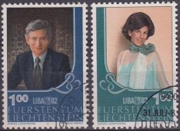 Liechtenstein 1982 Nº 738/39 Usado - Liechtenstein
