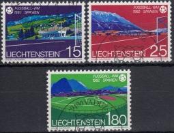 Liechtenstein 1982 Nº 740/42 Usado - Liechtenstein