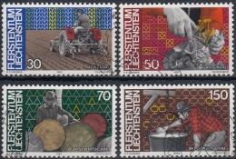 Liechtenstein 1982 Nº 743/46 Usado - Liechtenstein