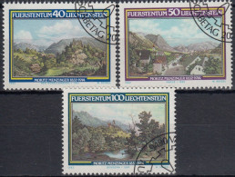Liechtenstein 1982 Nº 747/49 Usado - Liechtenstein