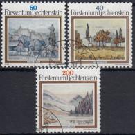 Liechtenstein 1983 Nº 762/64 Usado - Liechtenstein