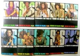 SAS LOTS DE 10 VOLUMES 61 à 70 - Lots De Plusieurs Livres