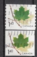 2010 Canada 2003 MAPLE LEAF Foglia Di Acero Viaggiato Used - Vegetazione