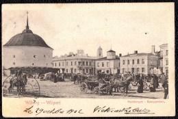 RUSSIA - 1902 !* WILBORG ( VYBORG )  -- VIBORGSKI - VIIPURI  ( Russian Finland )- Saintorget - Kauppatori ---- RARE !!! - Russie