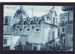 Old Post Card Of Cattedrale,Capri,Naples,Campania,Sorrentine Peninsula,Italy ,K19. - Napoli (Naples)