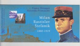 2003 - POCHETTE EMISSION COMMUNE - FRANCE-SLOVAQUIE - Milan Rastislav Stefanik (1880-1919) - N° YT : P3554 - Joint Issues
