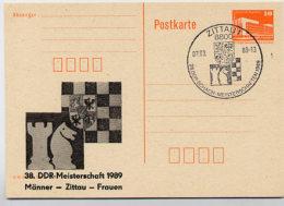WAPPEN Zittau DDR P86II-6b-89 C41-b  Privater Zudruck Sost. 1989 - Enveloppes