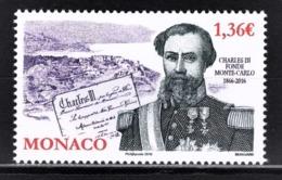 MONACO 2016 / Y.T. N° 3028 - 150 ANS DE LA FONDATION DE MONTE-CARLO - NEUF** - Monaco