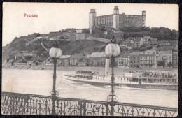 POZSONY - PRESSBURG -  Karte Um 1907 - 2 Scans - Hongrie