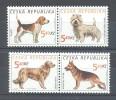 Czech Republic - 2001 Dogs MNH__(TH-8000) - Neufs