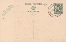 BELGIQUE ENTIER POSTAL MUSEE POSTAL - Geïllustr. Kaarten