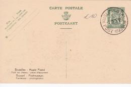 BELGIQUE ENTIER POSTAL MUSEE POSTAL - Enteros Postales