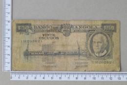 ANGOLA 20 ESCUDOS 1962      - (Nº15629) - Angola