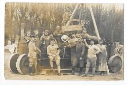 Atelier De Réparation Le Lendemain De La Signature De L'armistice Nv. 1918 - Parc Artillerie S.P.111 -    - L 1 - Equipment