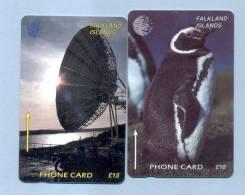 FALKLAND: FLK-2C & FLK-6A. 2 GPT Cards. CN:2CWFC & 6CWFA