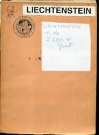 LIECHTENSTEIN +DE 2500 € COTATION YVERT ZTU. COLECCION COLECTION VOIR SCANS - Liechtenstein