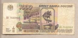 Russia - Banconota Circolata Da 1000 Rubli  - 1995 - Russia