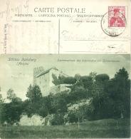 """AK  """"Schloss Habsburg - Stammhaus Des österreichischen Kaiserhauses""""  (Stempel)     1910 - Switzerland"""