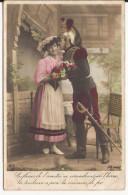 5458. CPA GUERRE 14 18 WW1. DRAGON CUIRASSIER ET SA FIANCEE - Guerre 1914-18