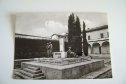 Firenze-scuola Di Sanità Militare-monumento A CADUTI MEDICI  CadutI In Guerra     TOSCANA   VIAGGIATA  COME DA FOTO - Firenze (Florence)